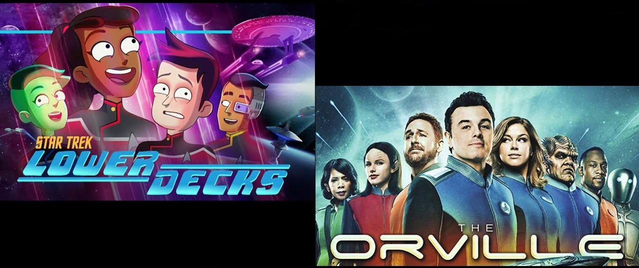 The Orville VS Star Trek: The lower decks